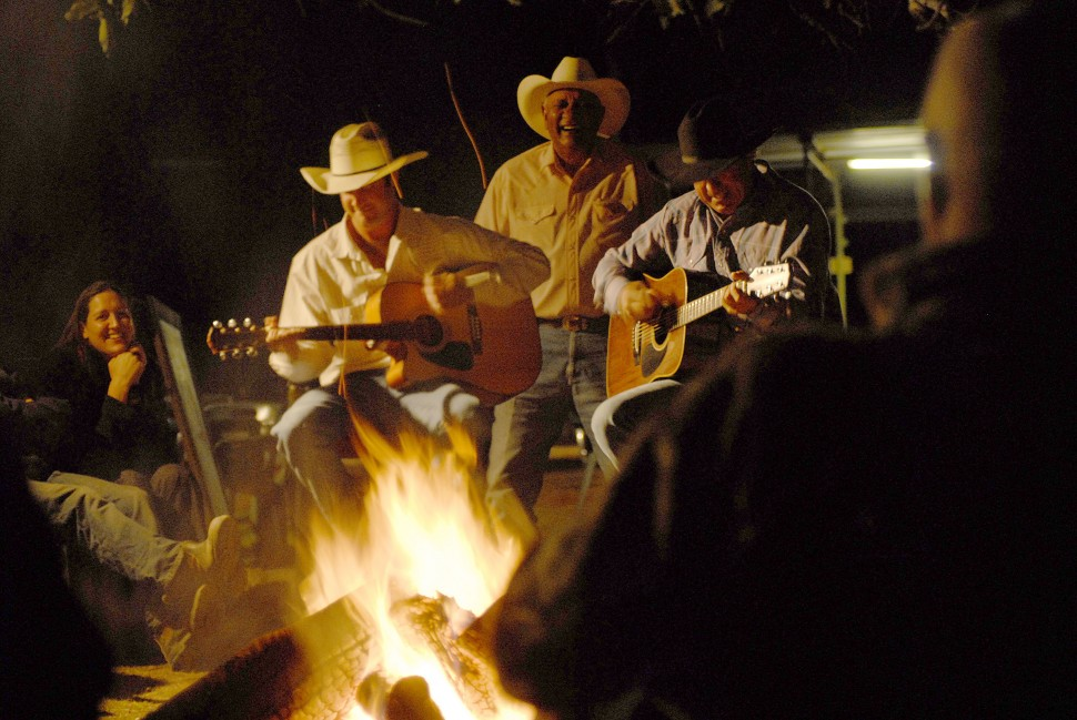 Music by the Campfire at Margaret River