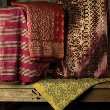 Songket represents opulence in the art of weaving in the Malay Archipelago