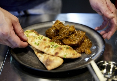 Makhan couples classic British fare with Indian favourites