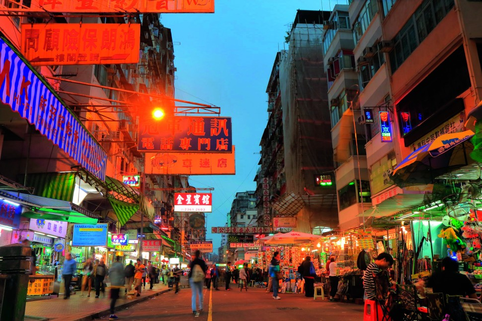 Apliu Street Flea Market in Sham Shui Po is the best place to shop for cheap, second-hand or new electronics