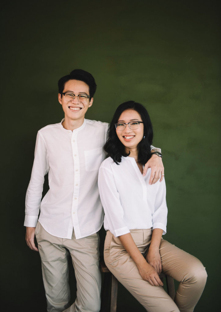 Fabian Tan and Eileen Phoan of Left & Right