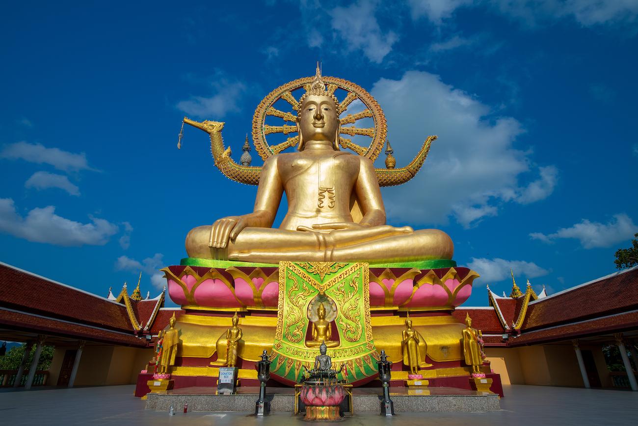 Wat Phra Yai, or The Big Buddha Temple, Koh Samui